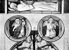 Château - Dessin : Vitrail de la chapelle