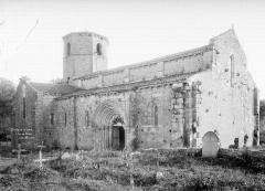 Eglise Saint-Hilaire et ancien monastère - Ensemble nord-ouest
