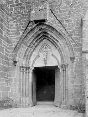 Eglise Sainte-Agathe - Portail de la façade ouest