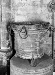 Eglise Sainte-Agathe - Fonts baptismaux