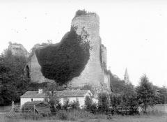 Ruines du château - Ensemble nord-ouest