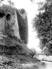 Ruines du château - Façade nord