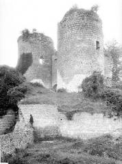 Ruines du château - Entrée à l'est