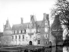 Château - Façade principale, côté nord