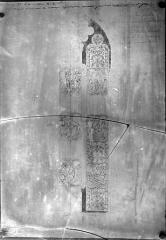 Cathédrale Saint-Pierre - Reproduction d'un dessin de Viollet-le-Duc : Vitrail exécuté par la manufacture de Sèvres