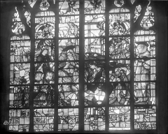Eglise Notre-Dame - Vitrail : Descente de croix