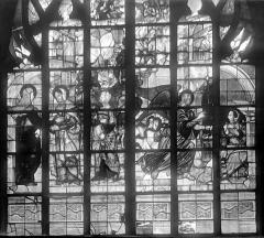 Eglise Notre-Dame - Vitrail : Annonciation. Visitation