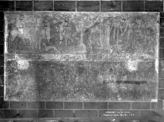 Eglise Saint-Victor-et-Sainte-Couronne - Peinture murale : Les trois morts et les trois vifs