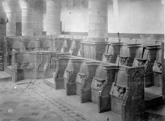 Eglise Sainte-Anne-de-Gassicourt - Stalles