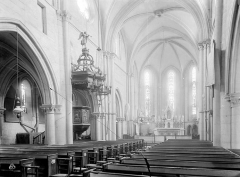 Eglise Sainte-Agathe - Vue intérieure de la nef vers le nord-est
