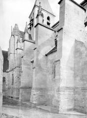 Eglise Saint-Martin - Façade nord : Partie ouest
