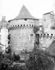 Anciens remparts - Tour au sud-ouest