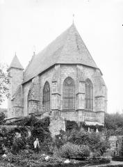 Sainte-Chapelle ou chapelle Saint-Louis - Ensemble sud-est