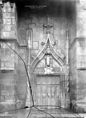 Sainte-Chapelle ou chapelle Saint-Louis - Petit portail nord
