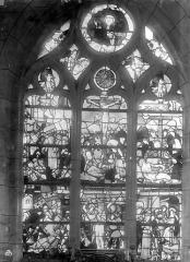Eglise Saint-Nicolas - Vitrail : La Passion