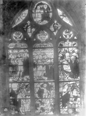 Eglise Saint-Nicolas - Vitrail : Jésus aux limbes, Appartion du Christ, Ascension, Pentecôte
