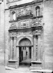 Hôtel Felzins - Façade sur rue : Porte monumentale
