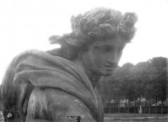 Domaine national de Versailles - Parc. Char d'Apollon : Buste