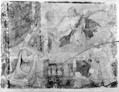 Eglise Saint-Martin - Peinture murale : L'Annonciation