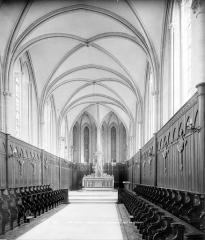 Ancien séminaire - Chapelle : Vue intérieure du choeur