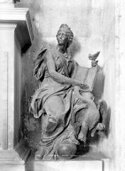 Hôpital - Tombeau de Louvois mort en 1691 : Statue