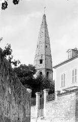 Eglise Saint-Martin - Clocher : Flèche, côté sud-ouest