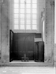 Cathédrale Saint-Etienne - Vue intérieure d'une chapelle, côté nord