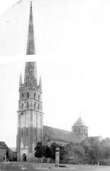 Ancienne église abbatiale - Ensemble sud-ouest