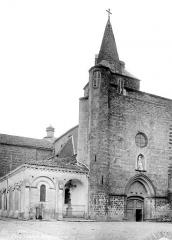 Ancienne cathédrale Saint-Jean-Baptiste - Façade ouest