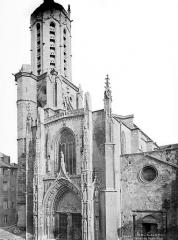 Cathédrale Saint-Sauveur - Façade ouest