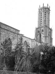 Cathédrale Saint-Sauveur - Façade nord et clocher