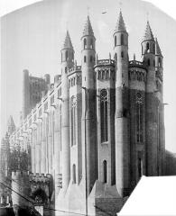 Cathédrale Sainte-Cécile - Ensemble sud-est. Porte Dominique de Florence