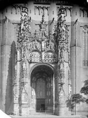 Cathédrale Sainte-Cécile - Portail de la façade sud, vu de face