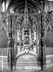 Cathédrale Sainte-Cécile - Clôture du choeur : travée centrale