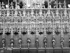Cathédrale Sainte-Cécile - Clôture du choeur : dais