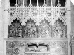 Cathédrale Notre-Dame - Clôture du choeur : Vie de saint Firmin