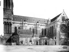 Cathédrale Saint-Maurice - Façade sud