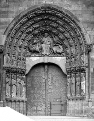 Cathédrale Saint-Maurice - Portail de la façade ouest (ensemble)