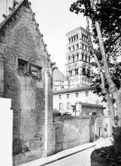 Ancien évêché - Bâtiment : Pignon gothique donnant sur la rue de Friedland, côté nord