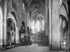 Cathédrale - Vue intérieure de la nef et du choeur