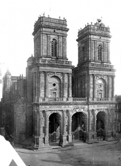 Cathédrale Sainte-Marie - Façade ouest