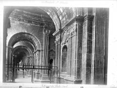 Cathédrale Sainte-Marie - Porche de la façade ouest : Vue intérieure