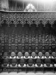 Cathédrale Sainte-Marie - Stalles du choeur : travées