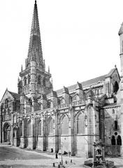 Cathédrale Saint-Lazare - Façade nord