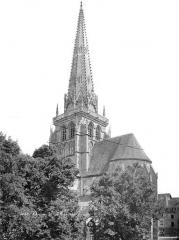 Cathédrale Saint-Lazare - Abside et clocher, côté sud