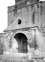 Cathédrale Notre-Dame-des-Doms - Porche de la façade ouest