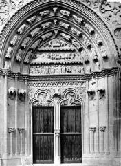 Cathédrale Notre-Dame - Portail du transept sud