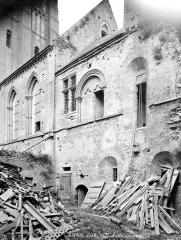 Cathédrale Notre-Dame - Salle capitulaire : façade extérieure