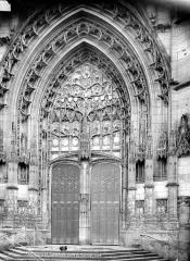 Cathédrale Saint-Pierre - Portail du transept nord