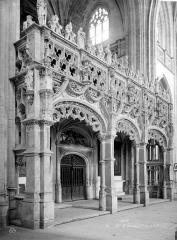 Ancienne abbaye de Brou - Eglise : Jubé